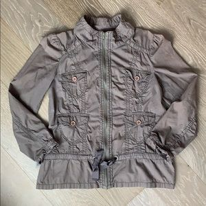 DKNY Brown Utility Jacket, size small